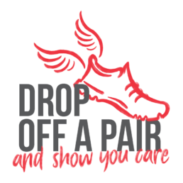 drop off a pair and show you care logo